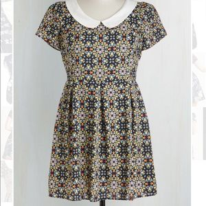 ModCloth Sunny Girl- kaleidoscope to see you dress
